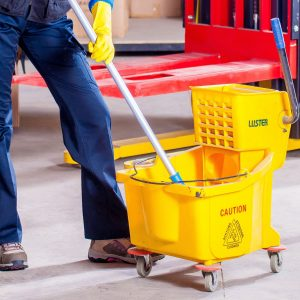 mop bucket janitorial services